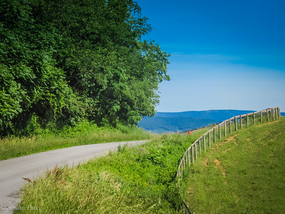 6-16-18: The road ahead, today. Somewhere in AUgusta County