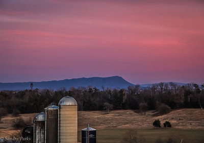 1-31-18: Sunset, county line