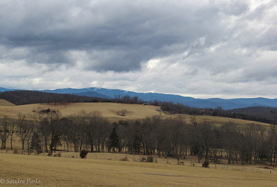 2-11-18: Mountains and clouds, Ridge Road