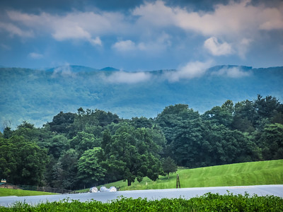 6-21-18: Mountains and morning clouds