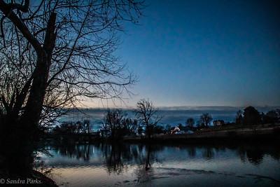 2-8-18: Blue dawn