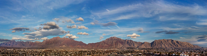 El Paso's Franklin Mountains