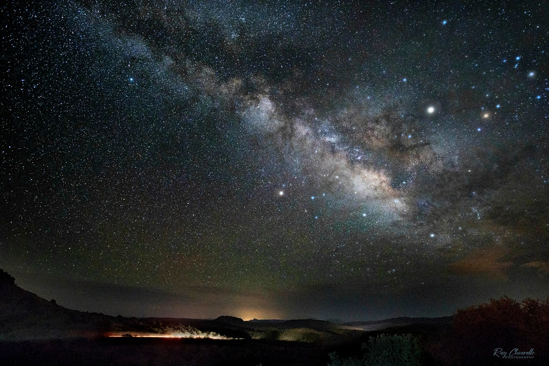 Milky Way Galaxy Over the Davis Mountains