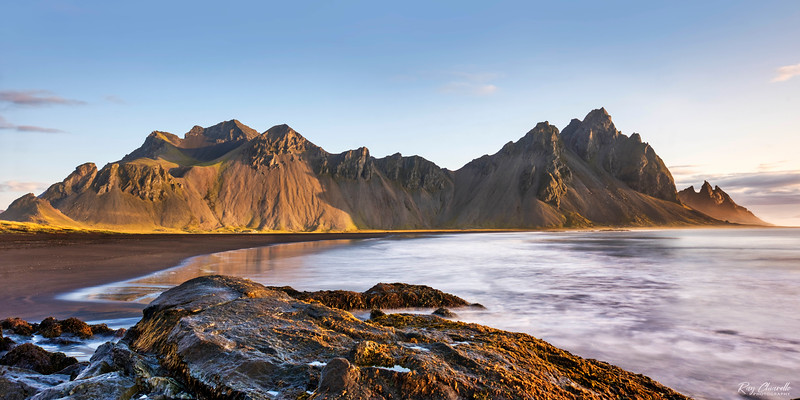 Morning Light on Vestrahorn