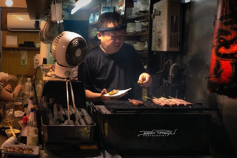 Street Food A Shinjuku