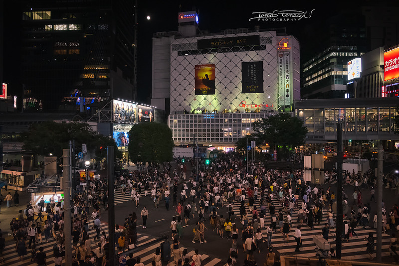 Attraversamento A Shibuya