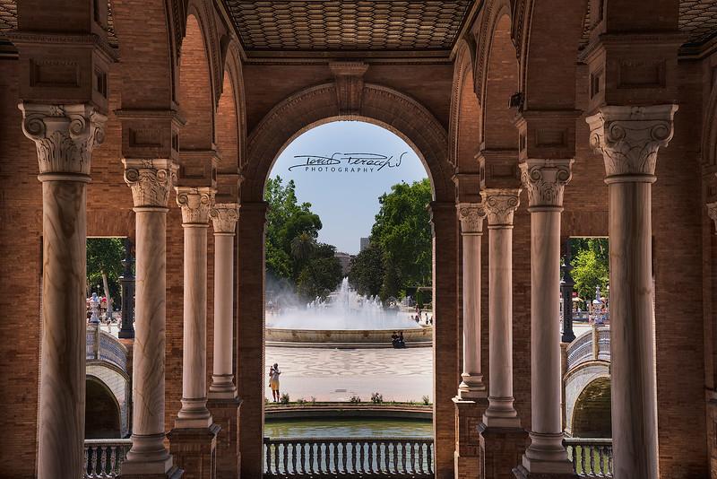 Vista Su Plaza De España