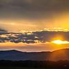 6-15-19: Sunset, in Ottobine.