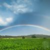 8-22-19: Double rainbow, Dry River