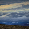 12-9-19: Mountain and clouds