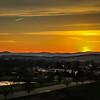 3-30-19:  Sundown over Bridgewater