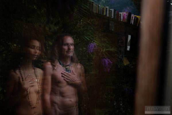 Wedding Photographer - Artistic Nude Engagement Portraits - Cortes Island