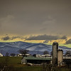 1-29-18: Storm clouds and snow in the mountains