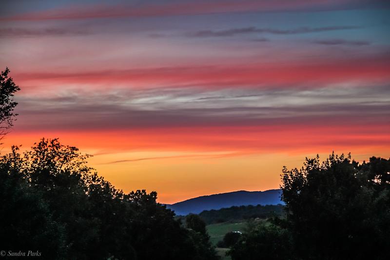 6-11-19: Sunset, Mile Hill