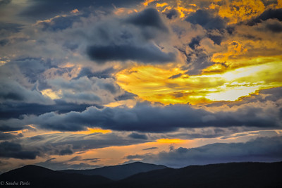 12-02-19: Mountains and clouds, at the close of the day