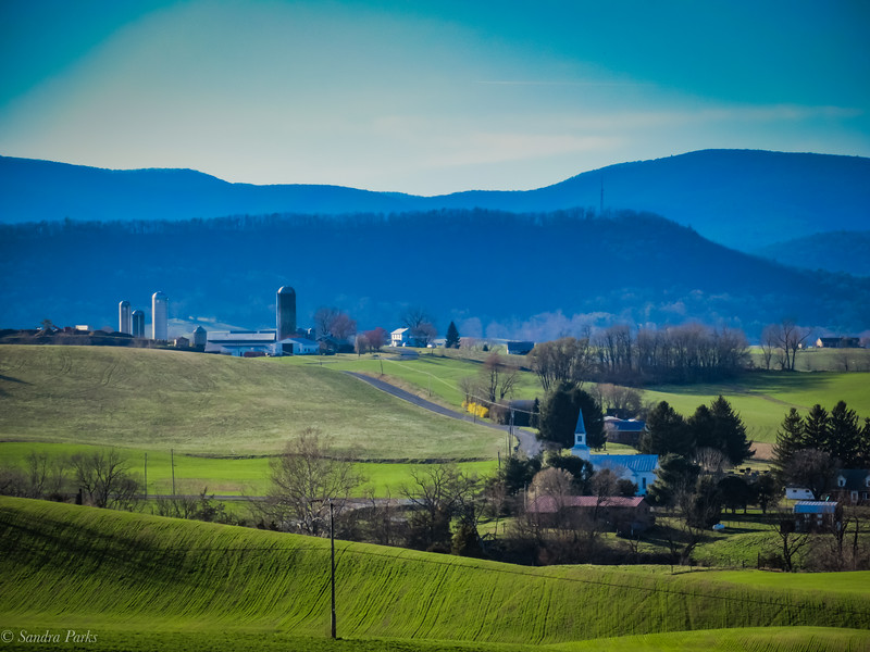 4-3-19: Mt Horeb, and the Alleghenies