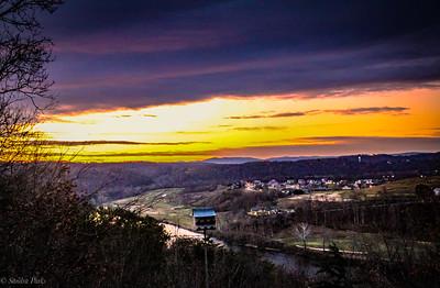 11-29-19: New River sunrise