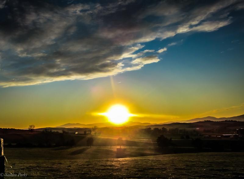 11-15-19: Sunset on Centerville