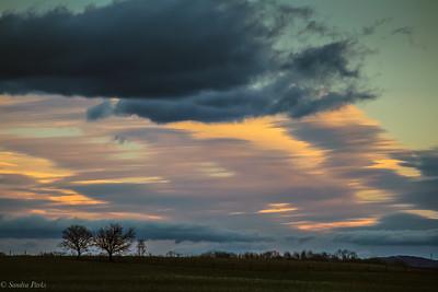 2-18-19: Morning skies.