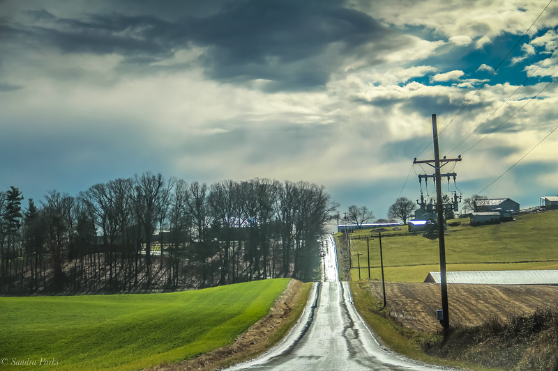 1-5-19: The passing of the storm, Limestone Lane