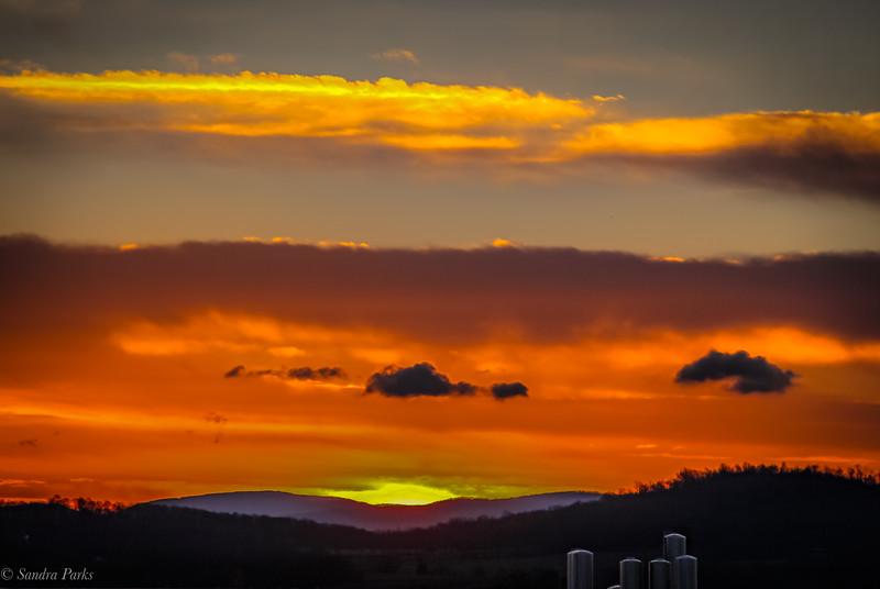 2-13-19: A sunrise, at last.