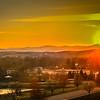 3-30-10 Sundown over Bridgewater