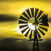 2-14-19: Sunset windmill