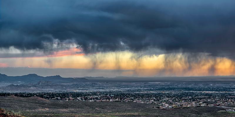 Virga Over El Paso