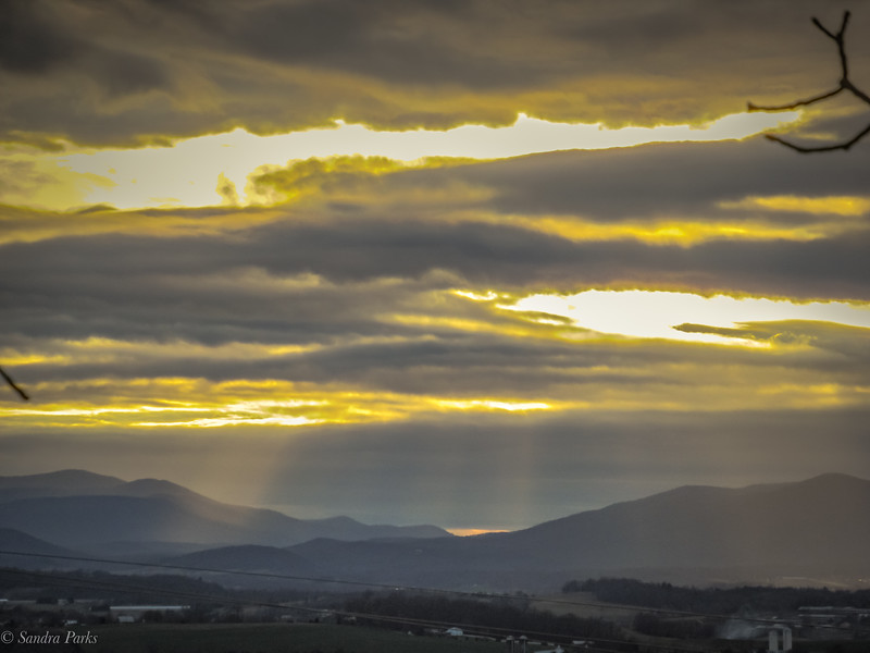 1-15-2020: Solar spill, Mole Hill