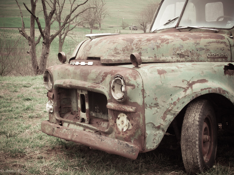 3-18-2020: Old truck