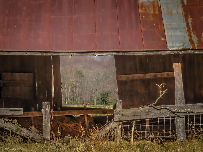 11-13-2020: Barn window.