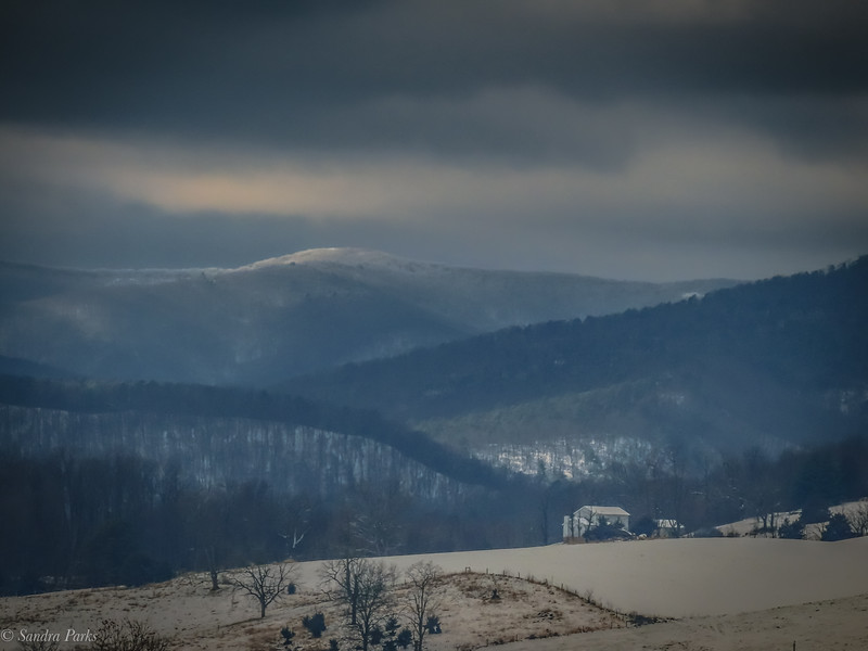 12-18-2020 : Mountains and snow