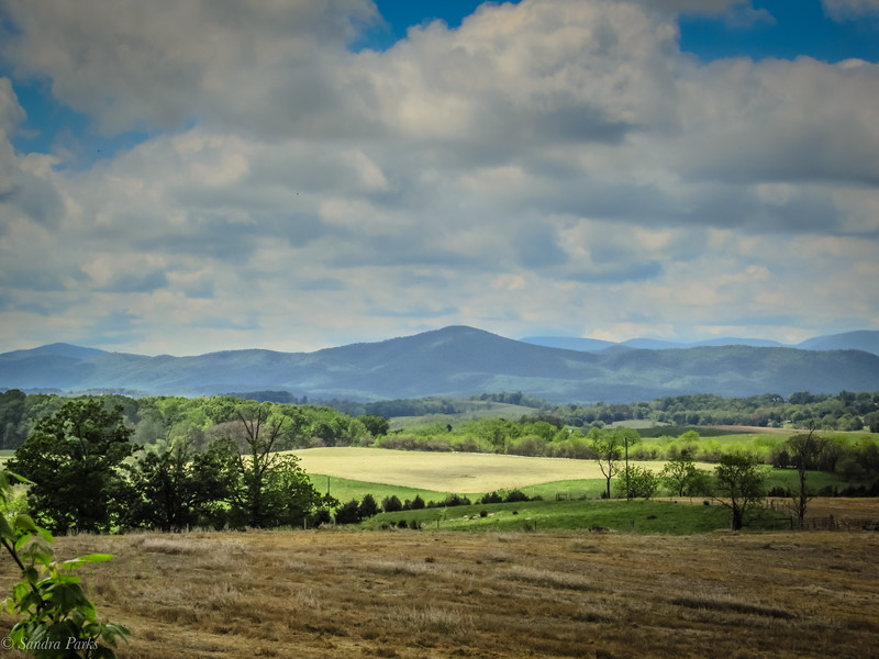 5-25-2020: The view from that hill on Badger  Road