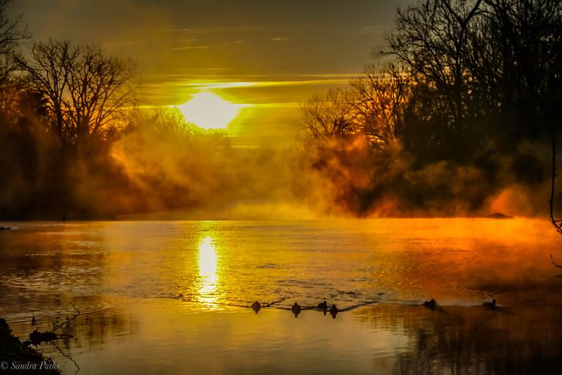 12-27-2020: Sunday morning sunrise.