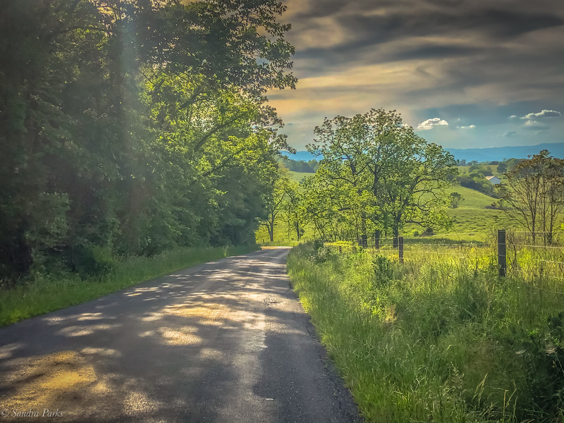 5-26-2020: The road ahead, today. SUmmit Ridge