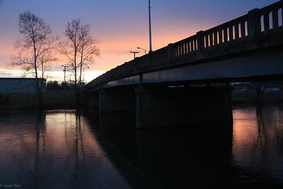 2-09-2020: Sunset at the bridge