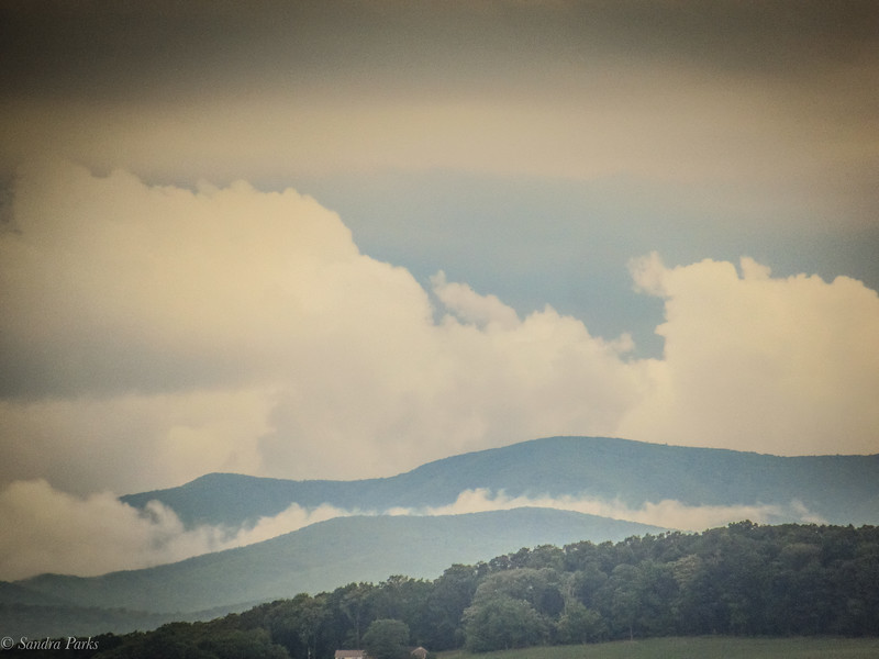 6-13-2020: Big clouds on the mountain s