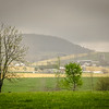 4-24-2020: Rain closing in on Mole Hill