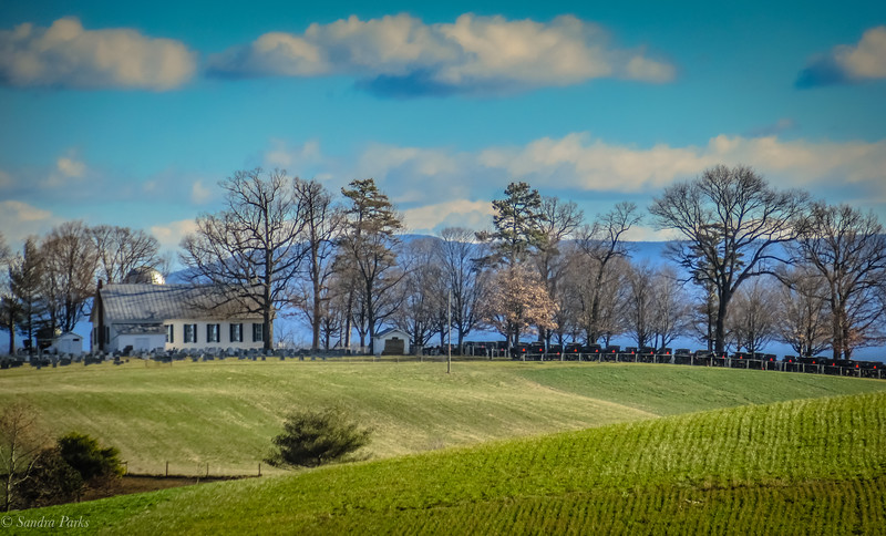1-19-2020: Pleasant View, from one hill to another