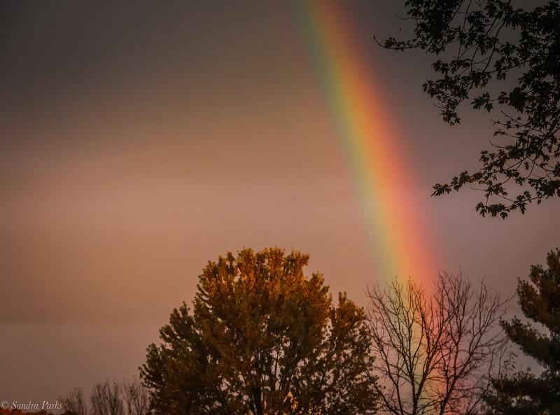 10-24-2020: Morning rainbow