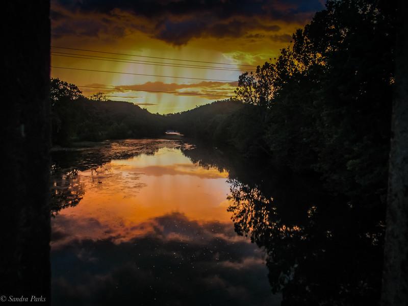 7-12-2020: Sunset ont he North River Bridge