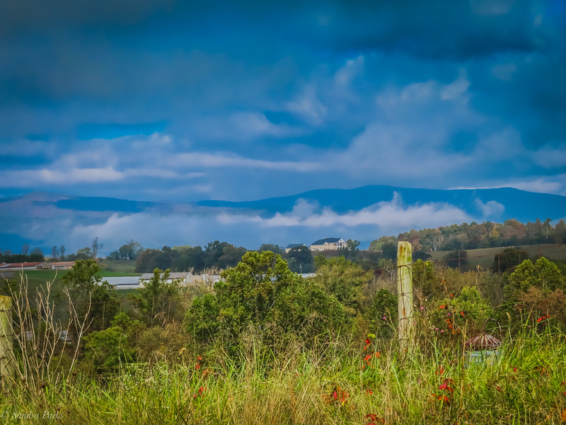 10-13-2020: Mountains and clouds