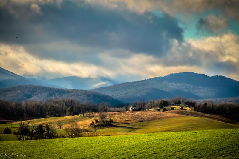 12-14-2020: Clouds clearing, Ottobine