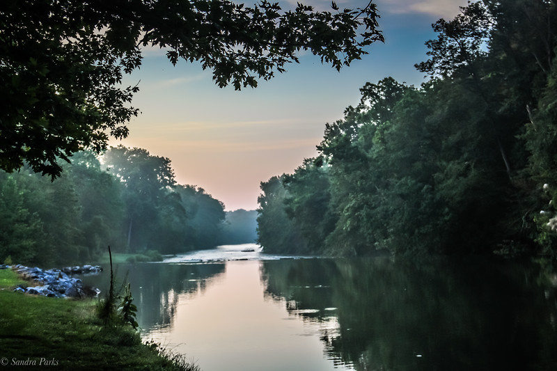 8-11-2021: Morning  at the river