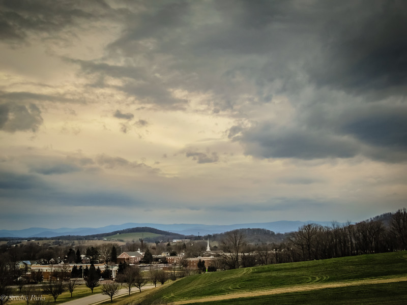 3-2-2020: Wild skies above Bridgewater