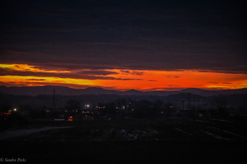 1-31-2020: daybreak, on the way to work