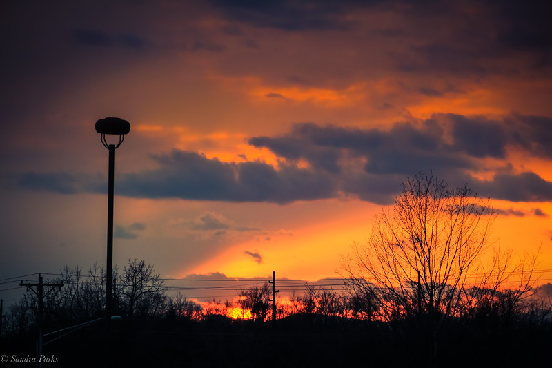 2020-2020: sunset from the school parking lot