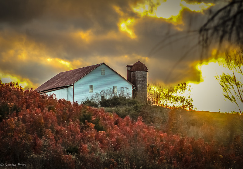 11-30-2020: Barn on the hill
