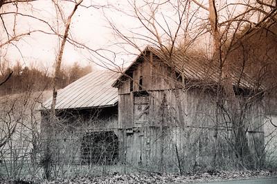 1-18-2020: old barn, Rockbridge County