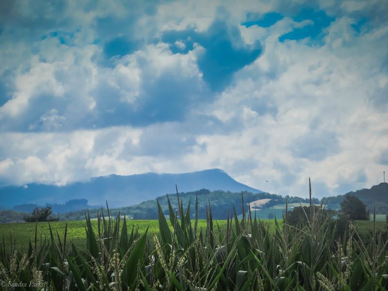 8-4-2020: Clouds lifting over Massanutten